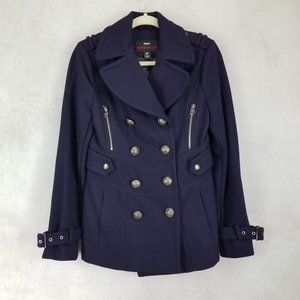 Miss Sixty M60 S Double breasted Wool Peacoat